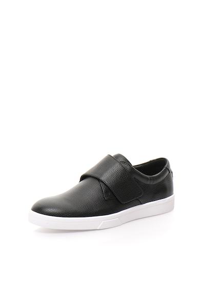 Calvin Klein Pantofi monk negri Iman Barbati