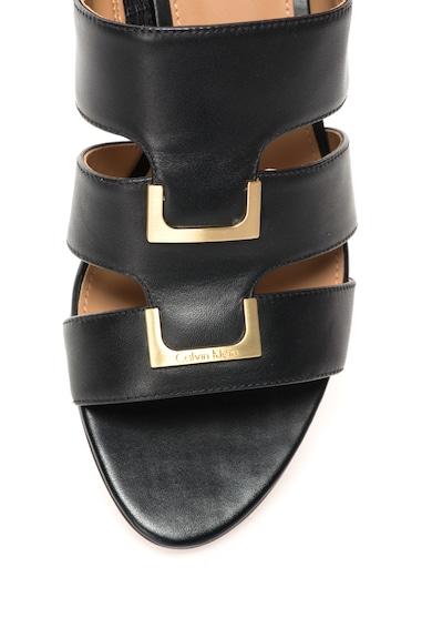 Calvin Klein Sandale negre de piele Neda Femei