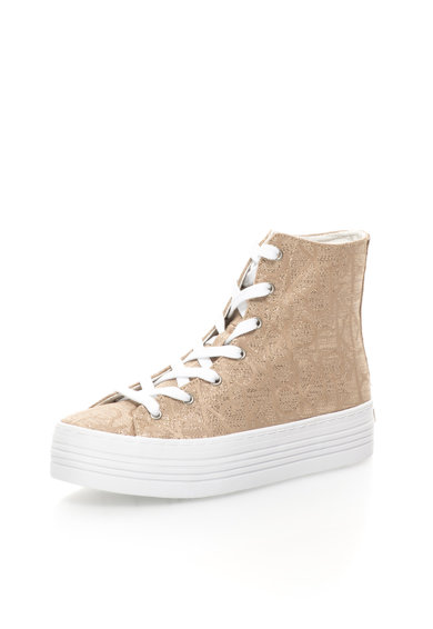 Calvin Klein Jeans Pantofi sport inalti flatform aurii Zabrina Femei
