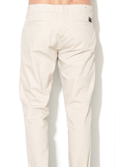 Greystone Pantaloni chino regular fit gri deschis Chris Barbati