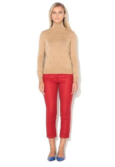 Love Moschino Pantaloni capri din amestec de lana Femei