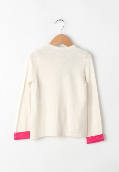 United Colors of Benetton Cardigan cu funda decorativa Fete