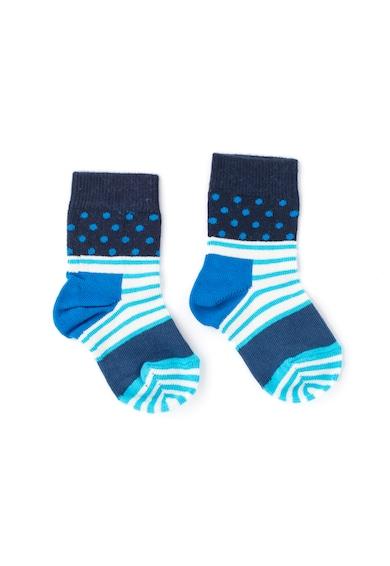 Happy Socks Sosete cu dungi si buline Fete