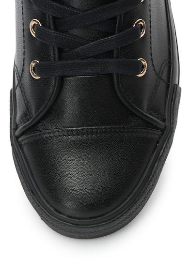 Love Moschino Pantofi sport inalti de piele sintetica cu detaliu in forma de inima Femei