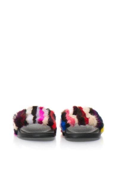 Colors of California Papuci cu blana sintetica Femei
