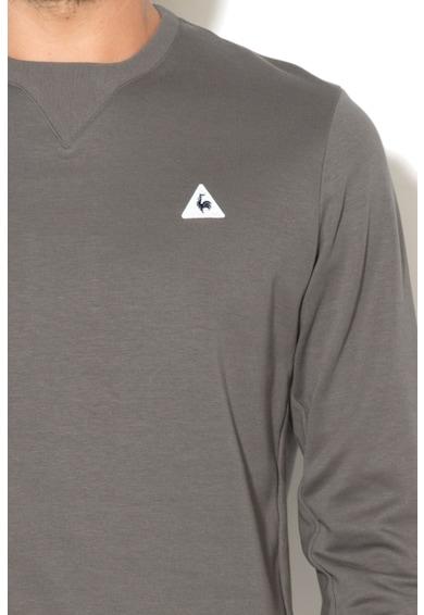Le Coq Sportif Bluza sport cu insertii striate Barbati