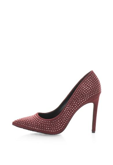 Francesco Milano Pantofi stiletto cu aplicatii din strasuri Femei