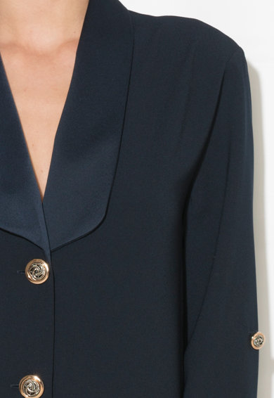 Zee Lane Collection Rochie tip palton cu terminatie asimetrica Femei