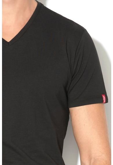 Levi's Set de tricouri cu decolteu in V - 2 piese Barbati