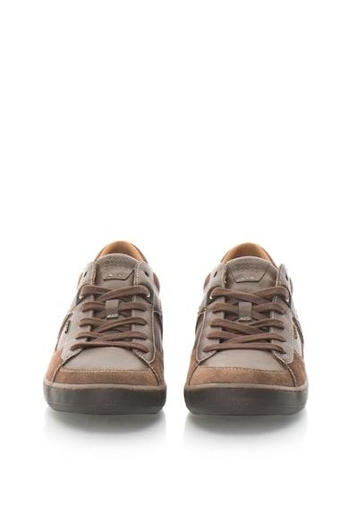 Geox Pantofi sport din piele sintetica Box Barbati
