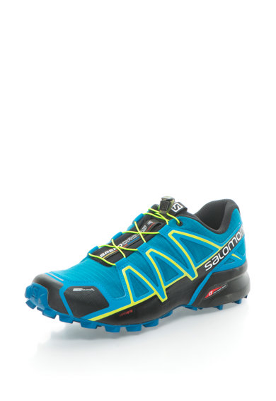 Salomon Pantofi cu detalii contrastante pentru alergare pe teren accidentat Speedcross 4 CS Barbati