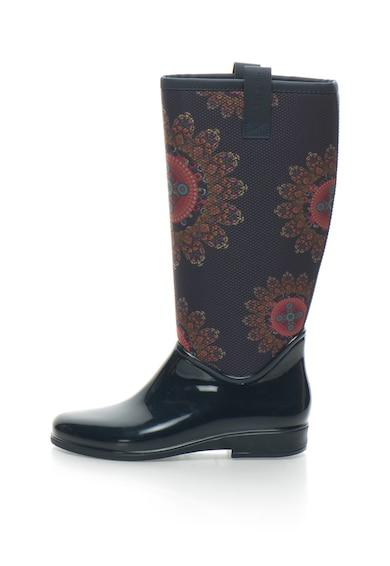DESIGUAL Cizme de ploaie cu imprimeu mandala Femei