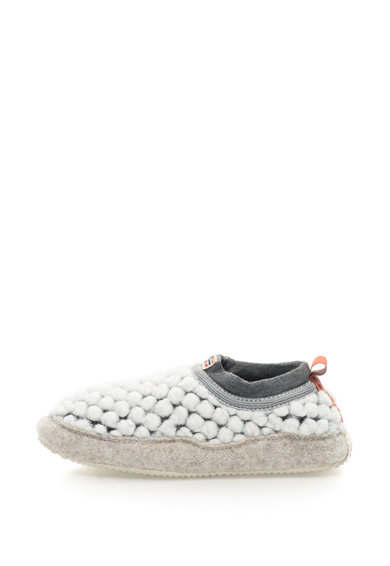 Napapijri Papuci slip-on texturati cu garnituri de fetru Misan Femei