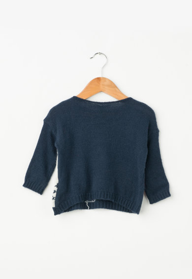United Colors of Benetton Pulover tricotat cu imprimeu Fete