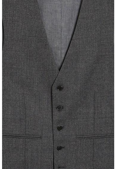 NEXT Sacou slim fit de lana, cu revere decupate Barbati