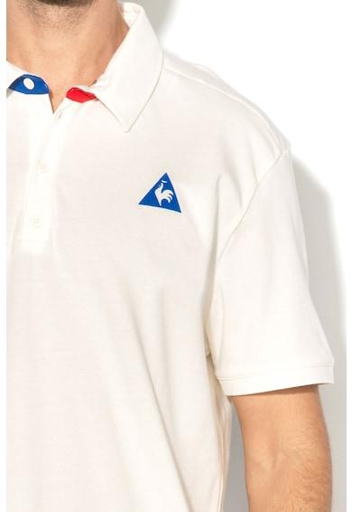 Le Coq Sportif Tricou polo cu aplicatie logo Barbati
