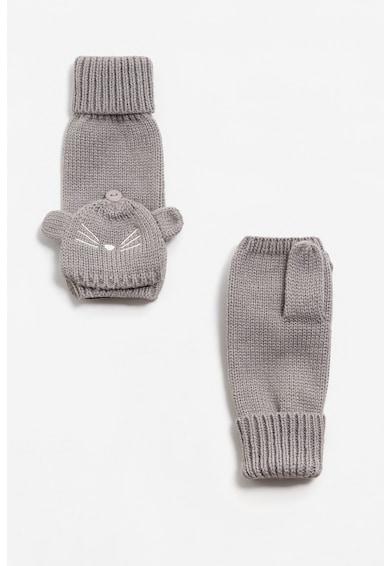 Mango Manusi tricotate, decupate Fete