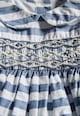 NEXT Set de rochie si chiloti albastru cu alb in dungi - 2 piese Fete